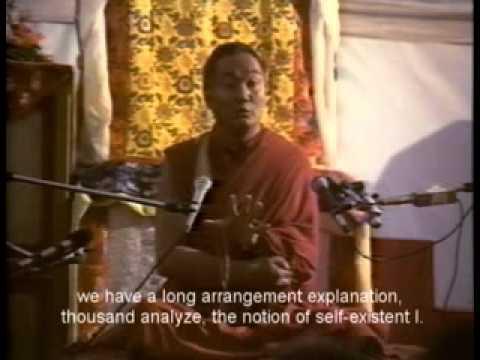 Lama Yeshe - The Three Principal Aspects of the Path  -  Part 2