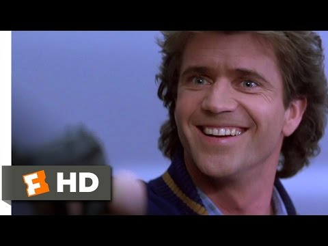 Lethal Weapon 2 610 Movie   Sometimes I Just Go Nuts 1989 HD