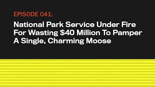 National Park Service Under Fire For Wasting $40M To Pamper A Charming Moose | The Topical | Ep 41