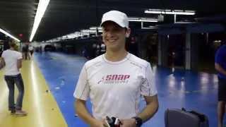 Landon Cassill Runs 14 Miles after the NASCAR Coca Cola 600