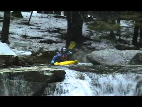 Hubbard Brook, MA - First drop / waterfall