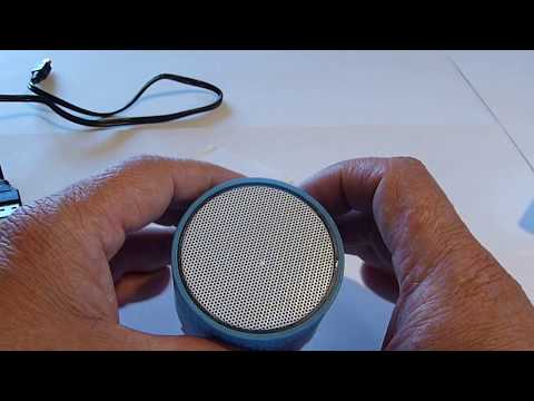 A9 Mini Bluetooth Wireless Speaker - BLUE from Gearbest