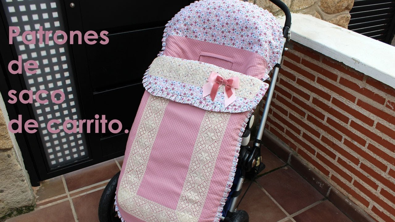 Como hacer un saco universal para carrito de beb  YouTube