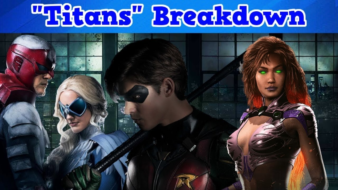 Titans Live Action Show Breakdown - Youtube-9543