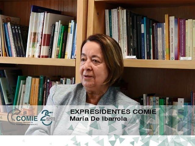Expresidentes COMIE: Maria de Ibarrola