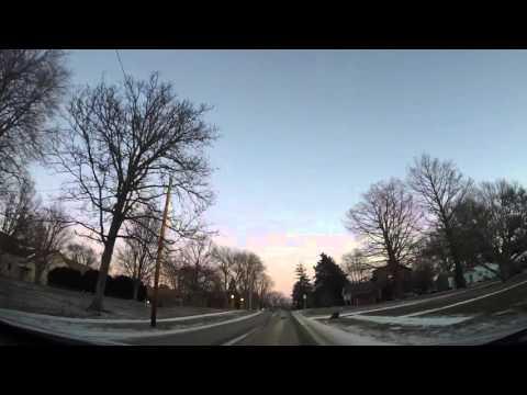 GoPro Burlington, IOWA January Weather HD