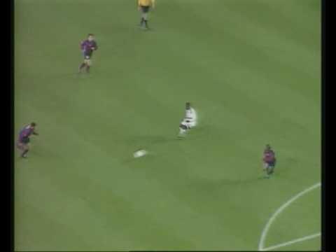 Cole and Yorke vs Barcelona