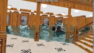R.M.S Titanic affonda ROBLOX