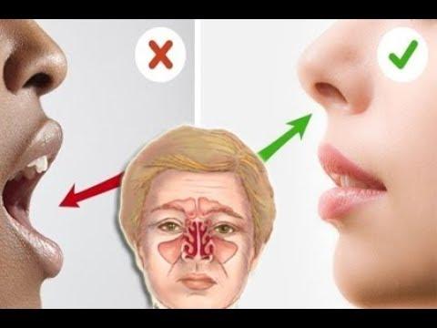 Das passiert wenn du ständig durch den Mund atmest