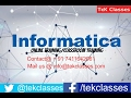 Informatica Complex Mapping Implementation | Informatica Interview Questions