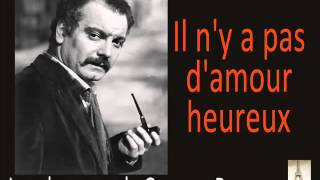 Georges Brassens   Il N