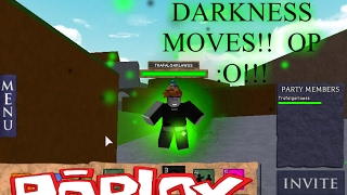 ROBLOX - France Champ de bataille élémentaire DARKNESS MOVES [SHOWCASE]!!!
