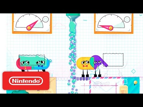 Snipperclips - Cut it out, together! Launch Trailer
