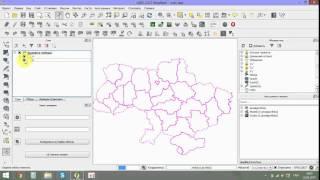 Урок 3. Карта України для QGIS.