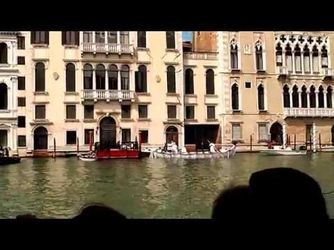 Beautiful Gran Canal in Venice of Italy Vacation