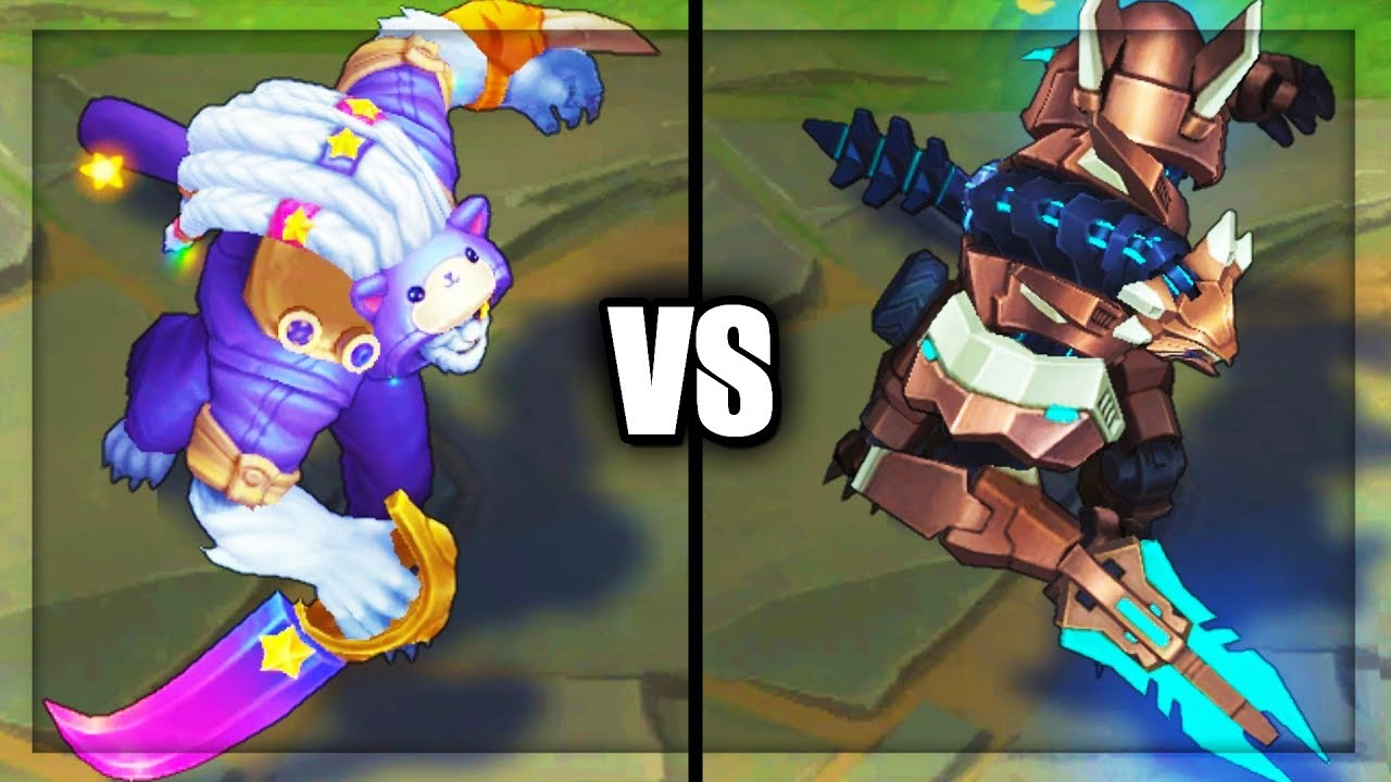 Pretty Kitty Rengar Vs Mecha Rengar Epic Skins Comparison League Of Legends Youtube