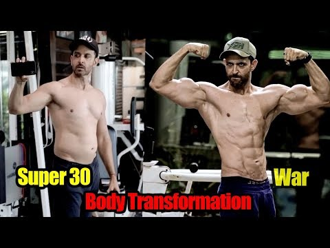 Hrithik Roshan Full Body Transformation After Super 30 to WAR | FULL VIDEO Mp3