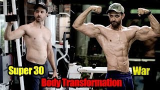 Hrithik Roshan Full Body Transformation After Super 30 to WAR | FULL VIDEO