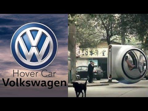 Volkswagen Levitating Concept- Hover Car
