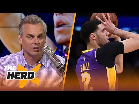 Colin Cowherd on attempts to fix Lonzo Ball's jump shot  NBA  THE HERD