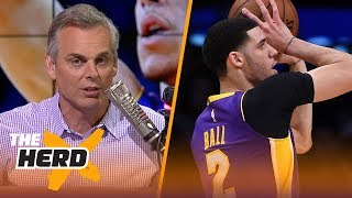Colin Cowherd on attempts to fix Lonzo Ball's jump shot | NBA | THE HERD