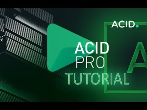 ACID Pro 8 - Tutorial for Beginners [COMPLETE] - 16 MINS!
