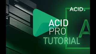 Обложка ACID Pro 8 Tutorial For Beginners COMPLETE 16 MINS