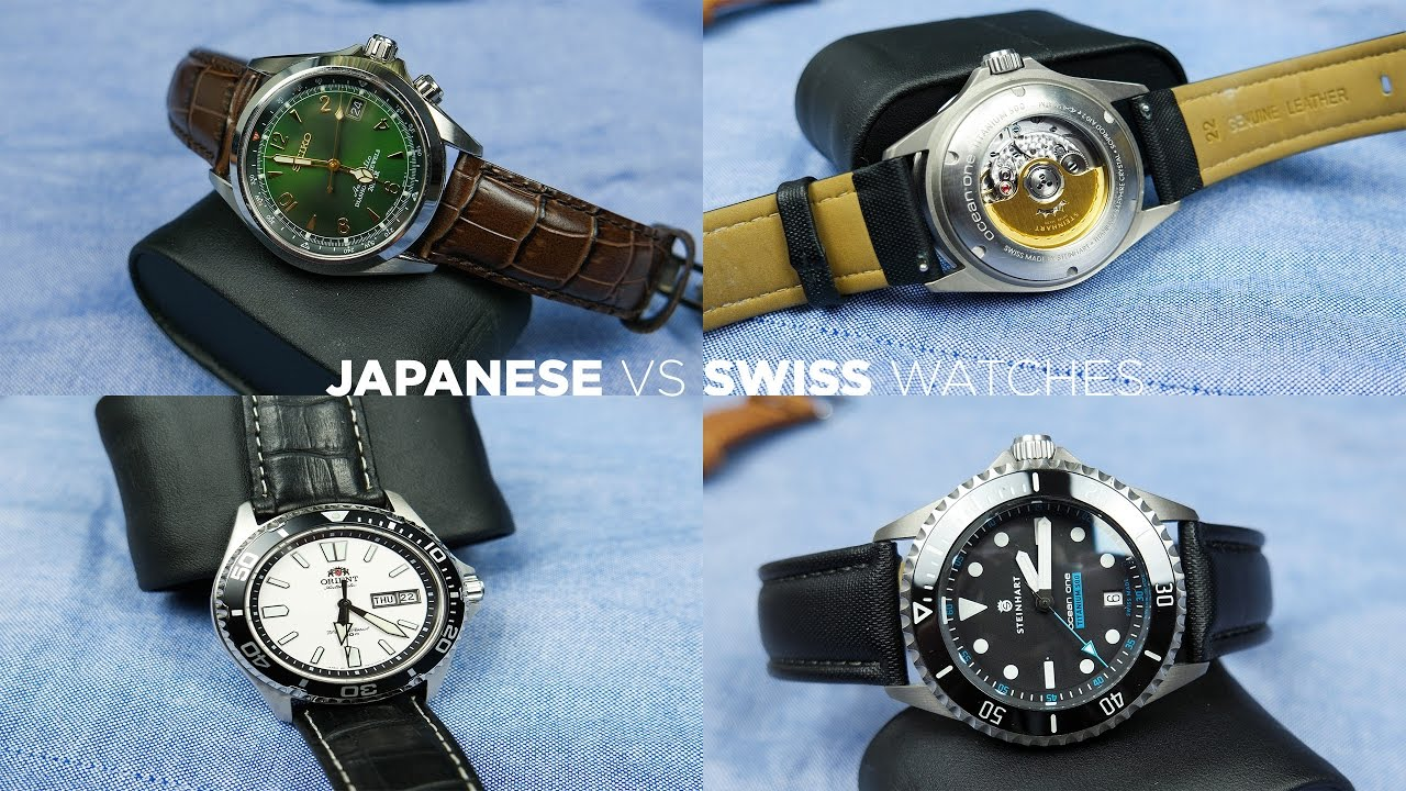 Japanese vs swiss watches are swiss made watches really better youtube for Swiss made watches
