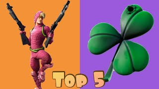 Top 5 Backbling + King Flamingo Skin Combos In Fortnite!