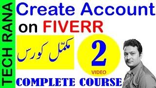 How to Create Account on Fiverr   Urdu Hindi   Video 2