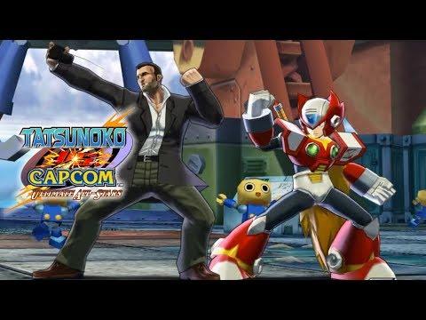 Tatsunoko vs. Capcom: Ultimate All-Stars - Arcade Zero & Frank - 1080P [60FPS]