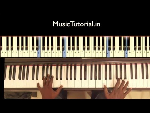 Jordan Feliz - The River - Piano tutorial