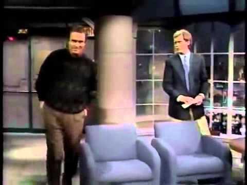 11 17 1986 David Letterman Late Night Charles Grodin Jim Kelly