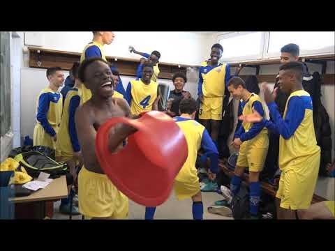 Cris de Guerre - Match de coupe de Paris U15 Entente Sannois Saint Gratien vs Montfermeil 14 04 18