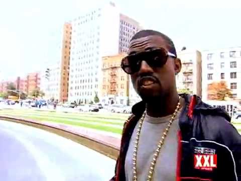 Kanye West XXL Magazine Cover Shoot BTS (October 2007)