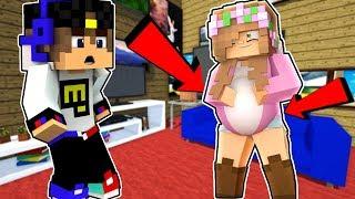 Ребенок ЕвгенБро и Девушка Майнкрафт ПЕ выживание деревня моды видео мультик для детей Minecraft PE