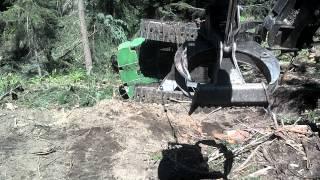 John Deere 2954D Loader Logging Recovery