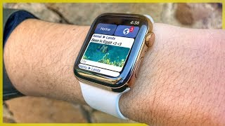 Facebook for Apple Watch Series 4!