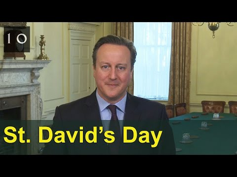 St David's Day: David Cameron's message