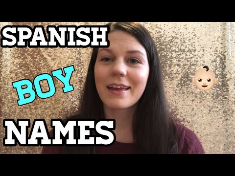 10 SPANISH BABY BOY NAMES I LOVE AND MAY BE USING