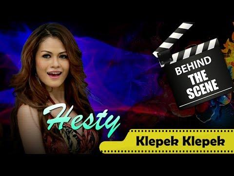 Hesty Behind The Scenes Video Klip Karaoke Klepek Klepek Nstv Tv Musik Indonesia