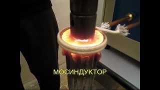 Индукционная пайка ротора электродвигателя(Пайка ротора электродвигателя на индукционном нагревателе ВЧ-25А. Подробности на сайте: http://www.mosinductor.ru/..., 2013-01-05T11:59:32.000Z)