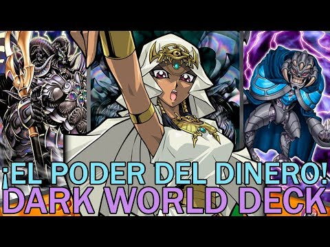 ¡EL PODER DEL DINERO! Dark World Deck | Yu-Gi-Oh! Duel Links