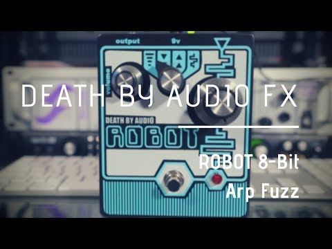 Robotic Guitar Tones | Death By Audio Robot