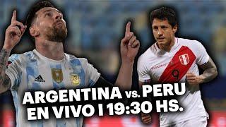 ARGENTINA VS. PERÚ ⚽️ VIVILO EN TyC SPORTS   Eliminatorias Catar 2022