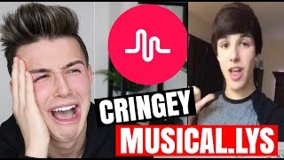 connor white reacts to cringey musical.lys