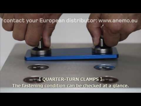 One Touch Fasteners quick changeover single minute exchange of die smed turn button fastener quarter