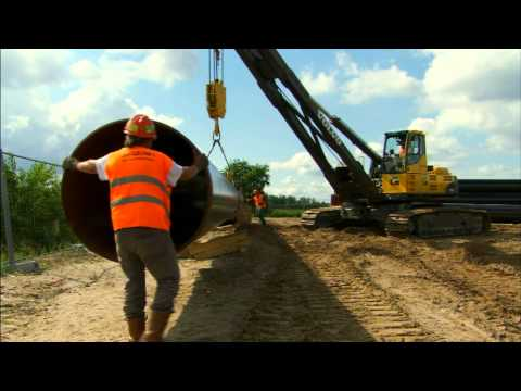 Volvo pipelayers - The future of the pipe laying business
