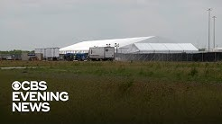 New tent cities housing migrants at southern border