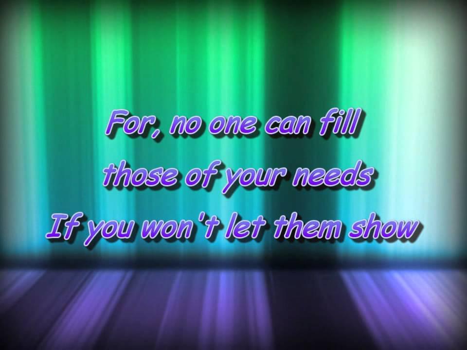 Lyric lean on me with lyrics : Lean on me - DC Talk (lyrics) - YouTube